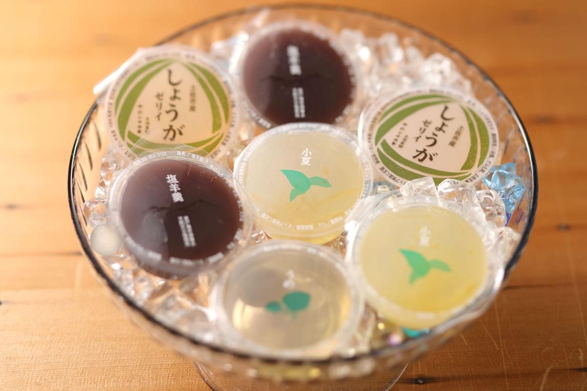 夏の水菓子 清滝山